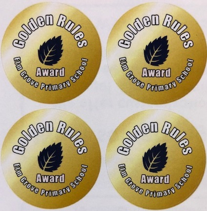 Golden Rules Award Sticker(1)